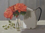 Roses and Pitcher